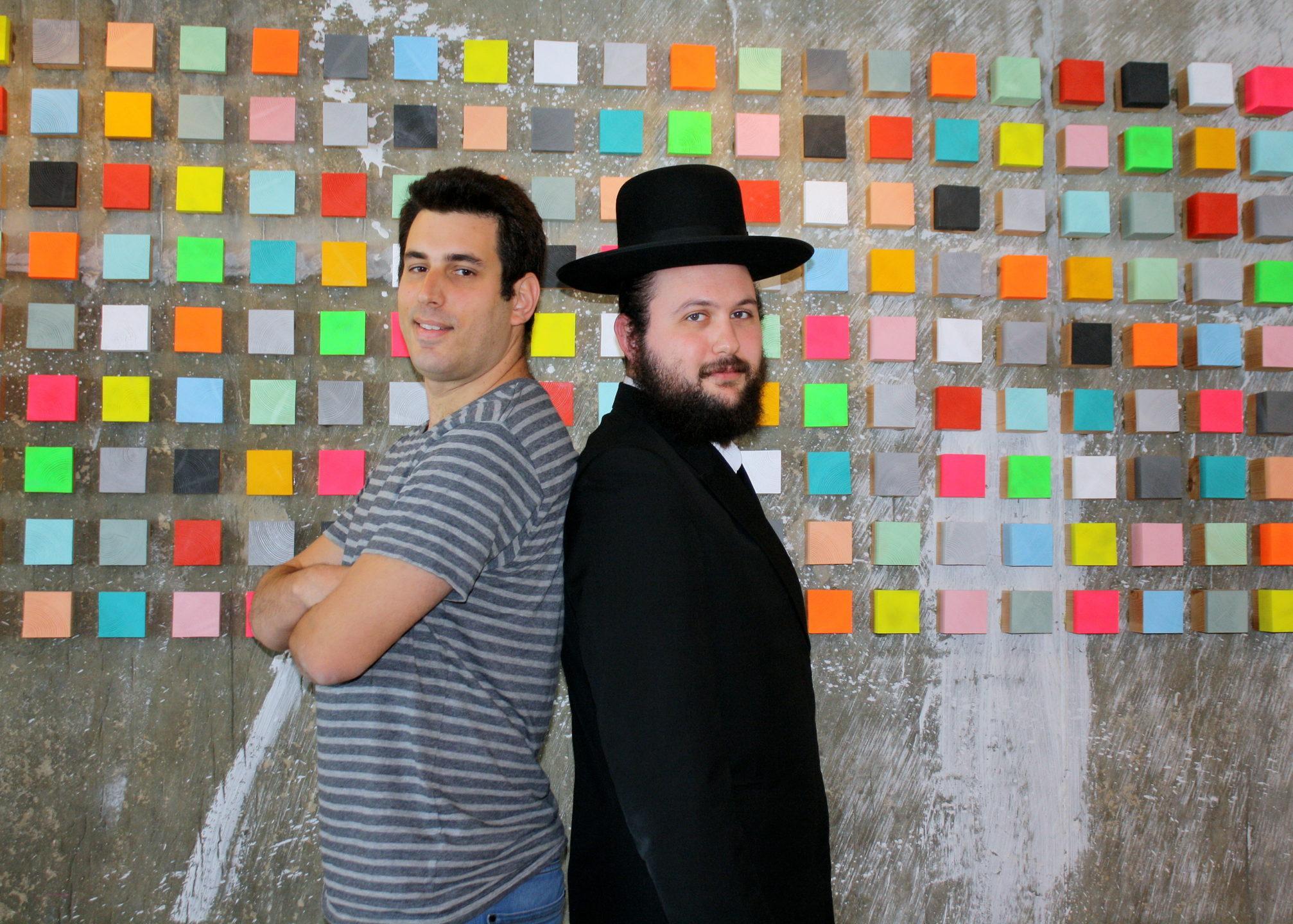 Idan Cohen & Ysrael Gurt, co-founders of Reflectiz