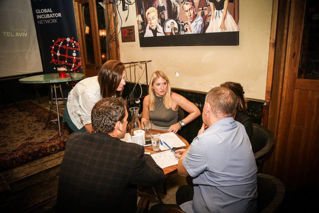 The Judging Panel @ Startup Live Startup Competition (Haggai Yedidya, Tal Catran & Tanja Sternbauer) -  Winning the Judges Hearts?