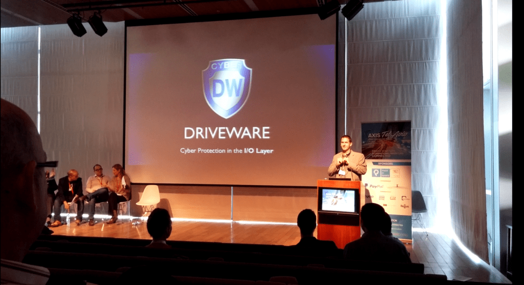 Presenting DriveWare in a Conference - Should it be Used as a Slide in a Deck?