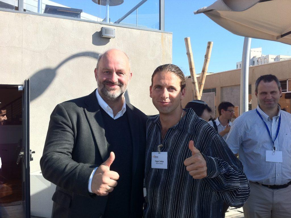 Werner Vogles (CTO, Amazon) & Haggai Yedidy - Networking in an Invite-Only Meetup